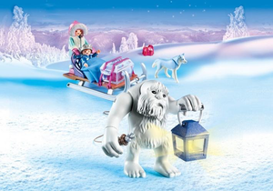 Yeti with Sleigh