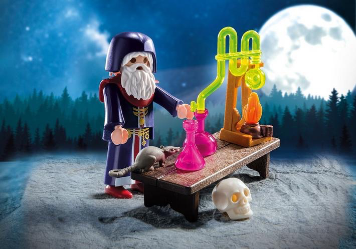 Playmobil Special Plus Alchemist with Potions image