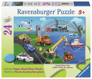 Ravensburger Floor Puzzle A Day on the Job