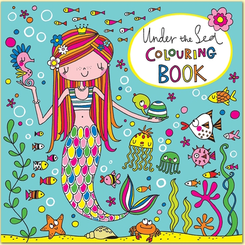 Square Coloring Book - Under the Sea - 8x8