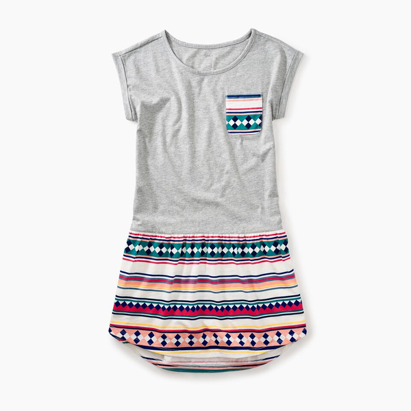 Seminole Patchwork Stripe Dres