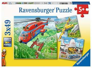 Ravensburger 3X49PCS Above the Clouds