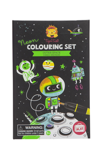 NEON COLOURING SET OUTERSPACE