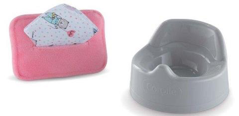 Corolle Mon Premier Potty and Wipes