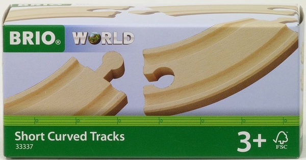 Brio Trains Short Curved Track
