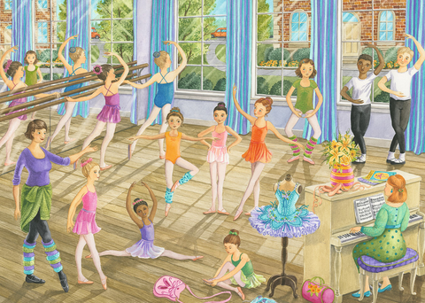 Ravensburger 35PCS Ballet Lesson