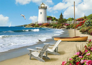Ravensburger 300PCS Large Format Sunlit Shore