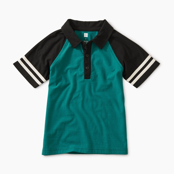 Speedy Striped Polo