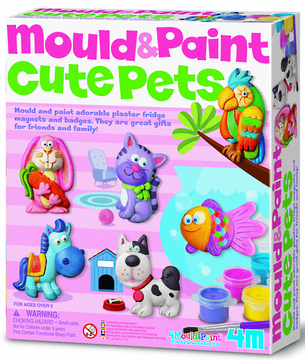 4M Mould & Paint Cute Pets