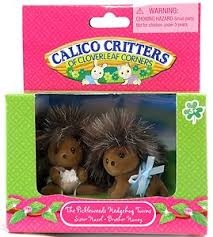 Calico Critters Picklewood Hedgehog Twins CF1429
