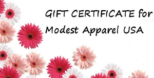 modest Apparel USA Gift Certificate