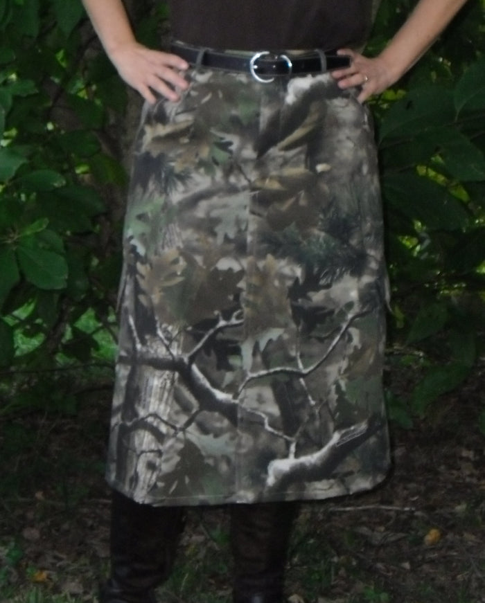 Child/Girls camouflage skirt