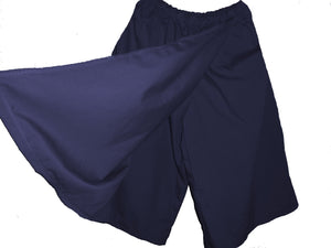 navy skort underneath(this is the color)