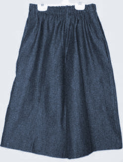 Everyday Activity Culottes - Denim -below the knee Size PLUS 1XL-4XL
