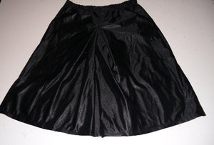 Black dazzle gym uniform culottes