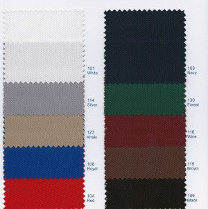 color chart for box pleat culottes