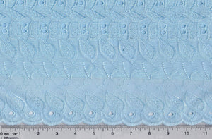 Light Blue Eyelet