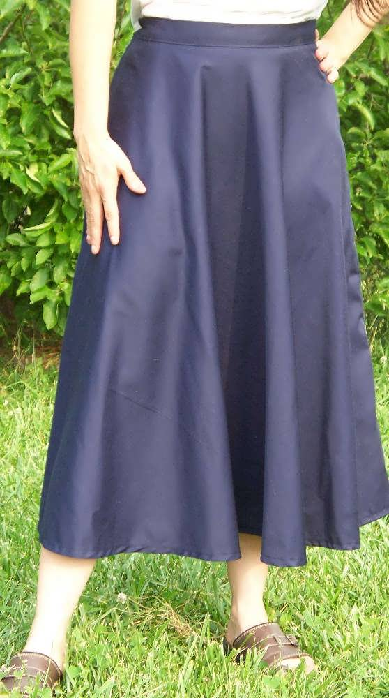 School Uniform Circle Skirt - Lackey School, Covington, GA