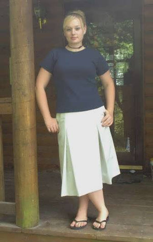 Pleated School Uniform Skirt