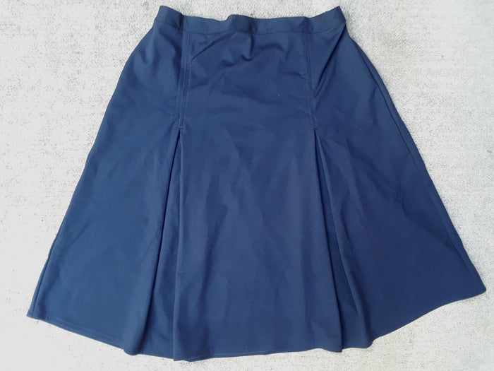 Pleated School Uniform Skirt in ponti knit  16