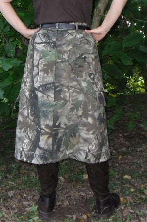 woodland camo back view