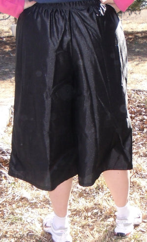 black dazzle culottes back
