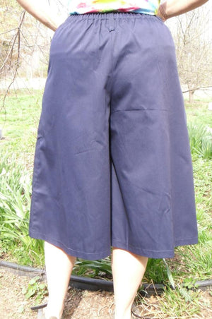 culotte front pleat back