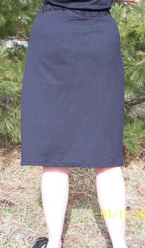 Modest Exercise Skort in Black