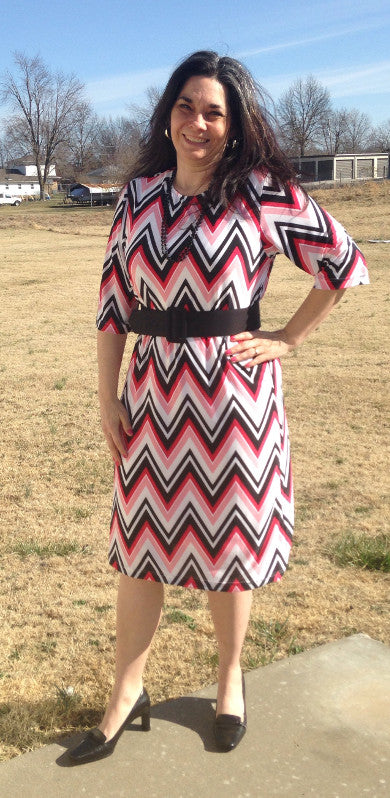 Zigzag dress-medium