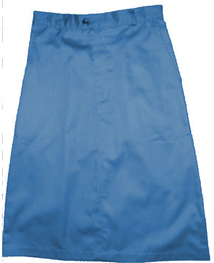 Navy twill uniform skirt