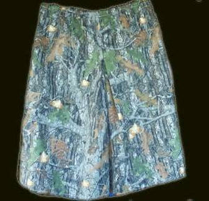 Camoflage Cargo Culotte Skirt