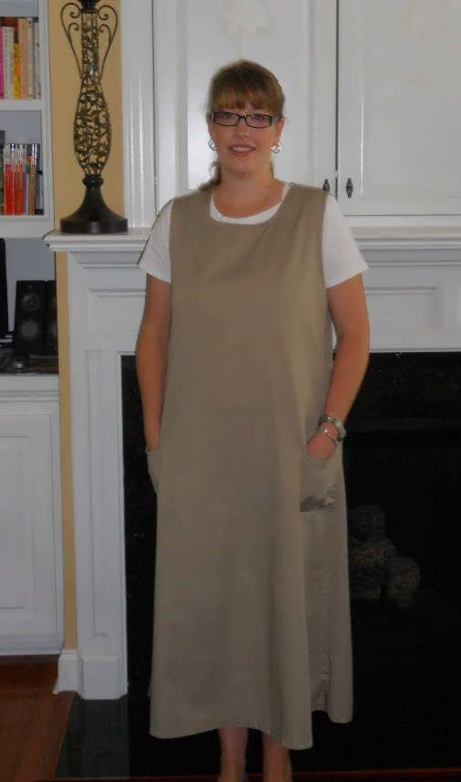 Modest Nursing Jumper Dress