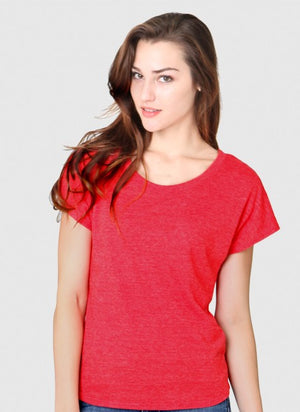 tri blend t-shirt red