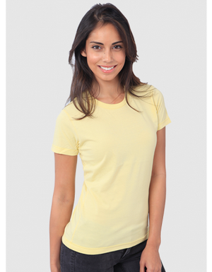 yellow organic t-shirt