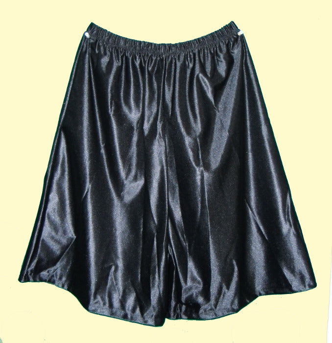 Black Dazzle Gym Culottes-Smaller waist -XS