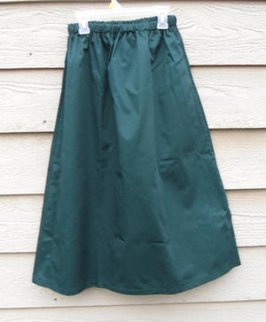 Long Elastic waist Skirt - Twill and denim - No Slit - SALE