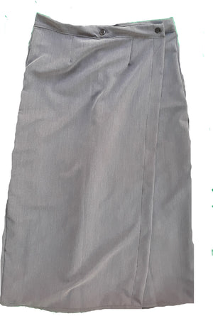 Ladies Long Skort Size 12 khaki