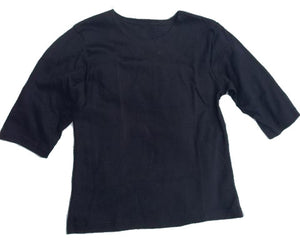Elbow Length Interlock T-Shirt by Modest Apparel USA Small Royal
