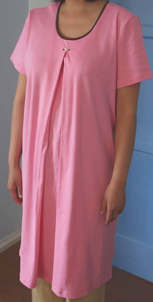 Nursing Nightgown-short Sleeve