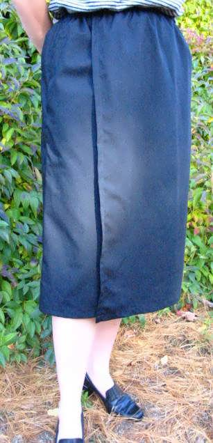 Ladies Modest Skort - 2XL-4XL