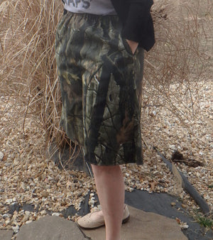culotte camo side view