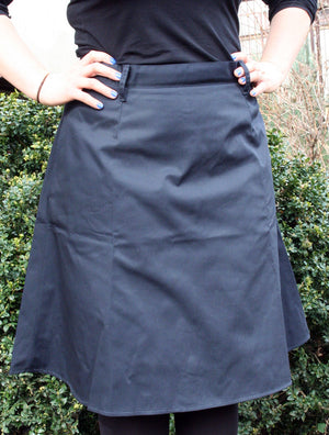 skirt with belt loops and pockets