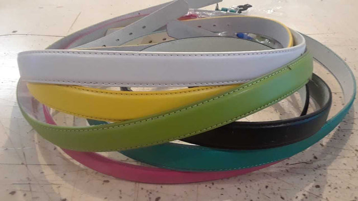 "Ladies 1"" Leather Belt - Ladies size large fits 36"" - 41"" waist $5 Special"