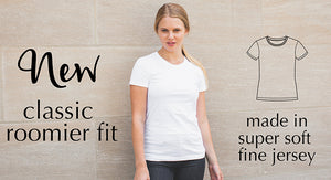 classic fit jersey tshirt