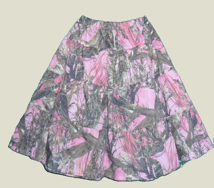 Camoflague Printed Prairie Skirt