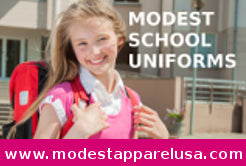 Modest school uniforms