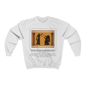 Crewneck Sweatshirt Democracy