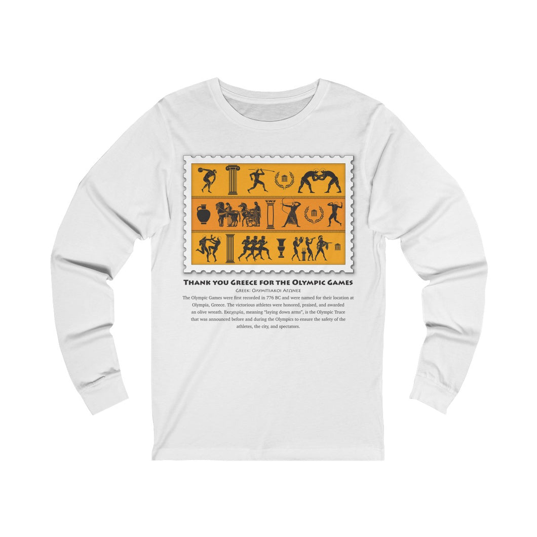 Long Sleeve Tee Olympic Games