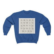 Load image into Gallery viewer, Crewneck Sweatshirt Greek Alphabet