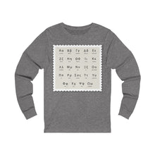 Load image into Gallery viewer, Long Sleeve Tee Greek Alphabet